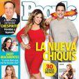 Chiquis, la fille aînée de Jenni Rivera, pose en couverture de People en espanol après sa perte de poids. Février 2014.