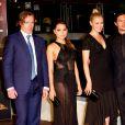 Toby Stephens, Jessica Kennedy, Parker Hannah et New Luke Arnold - Soirée 'Black Sails' lors du 54e festival de la télévision de Monte-Carlo. Le 10 juin 2014.