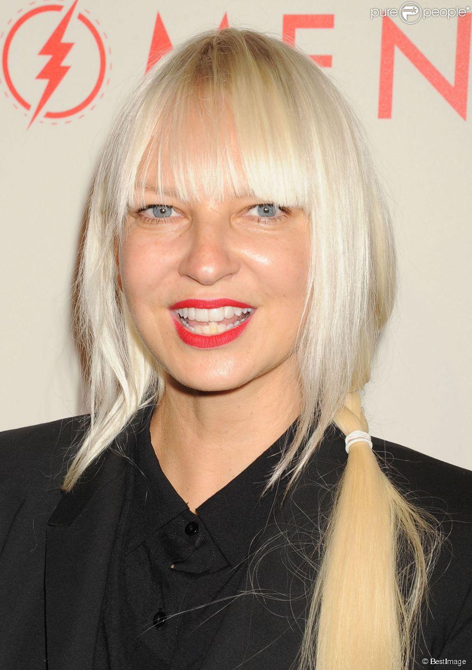"""Sia lors de la soirée """"An Evening With Women"""" à l'hôtel Beverly Hilton à Beverly Hills. Le 10 mai 2014."""
