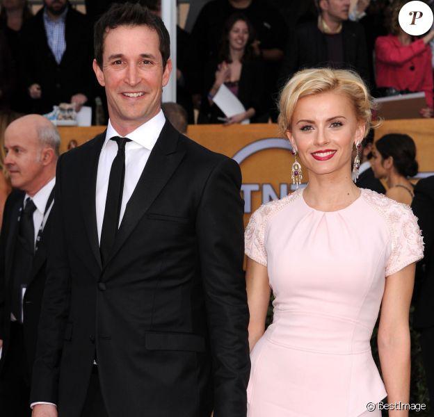"""Noah Wyle et sa compagne Sara Wells à la 19e cérémonie des """"Screen Actors Guild Awards"""" à Los Angeles, le 27 janvier 2013."""