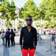 """Exclusif - Thomas N'Gijol - Arrivée des acteurs et des invités du film """"Fastlife"""" pour se rendre sur la terrasse du Publicis dans le cadre du 3e Champs-Elysées Film Festival à Paris, le 11 juin 2014."""