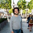 """Exclusif - Yazid Ait Hamoudi - Arrivée des acteurs et des invités du film """"Fastlife"""" pour se rendre sur la terrasse du Publicis dans le cadre du 3e Champs-Elysées Film Festival à Paris, le 11 juin 2014."""