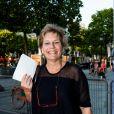 """Exclusif - Sophie Dulac (présidente du festival) lors de l'avant-première du film """"Metropolitan"""" au cinéma Publicis dans le cadre du 3e Champs-Elysées Film Festival à Paris, le 11 juin 2014."""