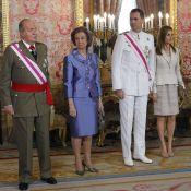 Felipe d'Espagne : Son père Juan Carlos Ier s'éclipse pour son serment de roi