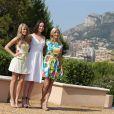 Kim Matula, Ashleigh Brewer et Katherine Kelly - Photocall de 'Amour Gloire et Beauté' à Monte-Carlo, le 8 juin 2014.