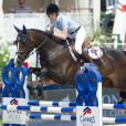 Charlotte Casiraghi le 14 juin 2014 au Jumping international de Cannes, 5e étape du Longines Global Champions Tour.