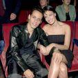 Marc Anthony et Dayanara Torres à New York. Octobre 2001.