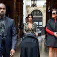Kim Kardashian et Kanye West en route pour le brunch dans le château de Garavani Valentino la veille de leur mariage