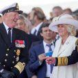 Le roi Harald V de Norvège lors de la commémoration du 70e anniversaire du débarquement sur la plage Sword Beach à Ouistreham, le 6 juin 2014