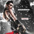 Rosario Dawson sur une affiche de Sin City : J'ai tué pour elle.