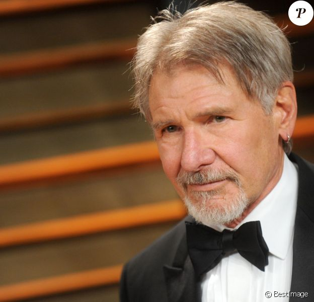 Harrison Ford - Soirée Vanity fair après les Oscars 2014 à West Hollywood le 2 mars 2014