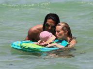 Falcao : Vacances heureuses avec sa sublime Lorelei et leur adorable fillette