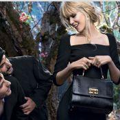 Claudia Schiffer : Une beauté perdue en forêt pour Dolce & Gabbana