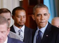 Tiger Woods : Contrarié au côté de Barack Obama, Lindsey Vonn heureuse