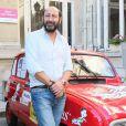 """Kad Merad - Vernissage de l'exposition """"Les vacances du petit Nicolas"""" à la mairie du 4e à Paris le 18 juin 2014."""