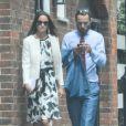Pippa Middleton et son frère James lors de leur arrivée à Wimbledon le 26 juin 2014