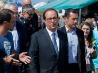 Solidays : François Hollande et Maïtena Biraben, visite surprise et des larmes