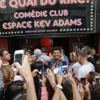 """Exclusif - Kev Adams inaugure le 1er Comédie Club qui porte son nom, """"Quai du Rire Comédie Club Espace Kev Adams"""" à Marseille le 30 mai 2014."""