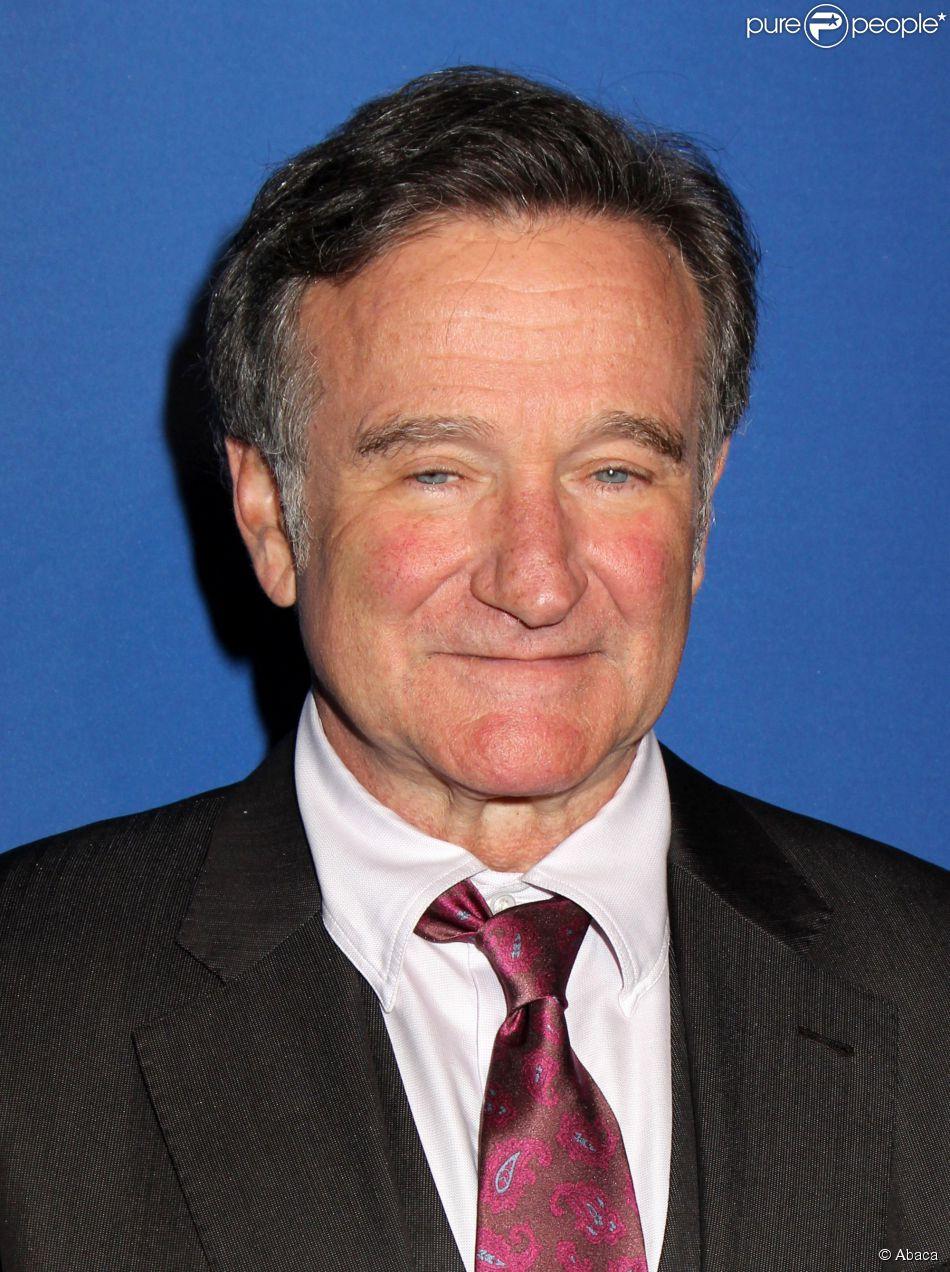 Robin Williams à New York le 15 mai 2013