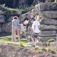 Exclusif - No Web No Blog - Paul McCartney et sa femme Nancy Shevell passent des vacances à Ibiza en Espagne, le 21 juin 2014.
