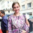 Arizona Muse lors de la soirée Bulgari à l'occasion de la Fashion Week chez Apicius à Paris le 8 juillet 2014.
