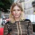 Elena Perminova lors de la soirée Bulgari à l'occasion de la Fashion Week chez Apicius à Paris le 8 juillet 2014.