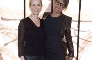 Laurence Ferrari et Audrey Pulvar : Duo rock et complice pour une soirée de luxe