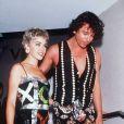 Kylie Minogue et Michael Hutchence en 1993.