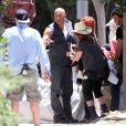 Vin Diesel sur le tournage de Fast & Furious 7 à Los Angeles, le 4 juin 2014