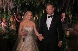 Jessica Simpson : Mariée sexy pour sa lune de miel après une fête grandiose