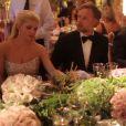 Jessica Simpson et son époux Eric Johnson ont célébré leur mariage dans un décor à Santa Barbara, le 5 juillet 2014.