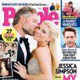 Jessica Simpson et son mari Eric Johnson, jeunes mariés radieux en couverture du magazine People.