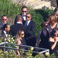 Mariage de Jessica Simpson et de Eric Johnson à Santa Barbara, le 5 juillet 2014.