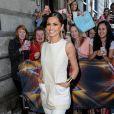 Cheryl Cole aux éditions pour X-Factor à Edimbourgh, le 1er juillet 2014.
