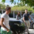 Selena Gomez et Tommy Chiabra à Saint-Tropez, le 21 juillet 2014.