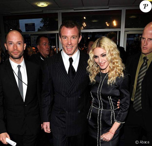 Guy RItchie et Madonna à la première de Rocknrolla