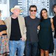 Jessica Alba, Freddie Miller, Josh Brolin, Rosario Dawson et Robert Rodriguez lors d'un photocall pour Sin City: A Dame to Kill For Photocall au Comic-Con de San Diego, le 26 juillet 2014.