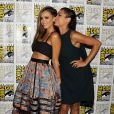 Jessica Alba et Rosario Dawson lors d'un photocall pour Sin City: A Dame to Kill For Photocall au Comic-Con de San Diego, le 26 juillet 2014.