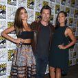 Jessica Alba, Josh Brolin et Rosario Dawson lors d'un photocall pour Sin City: A Dame to Kill For Photocall au Comic-Con de San Diego, le 26 juillet 2014.