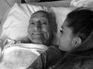 Ariana Grande : Endeuillée, elle cache la mort de son grand-père à son frère