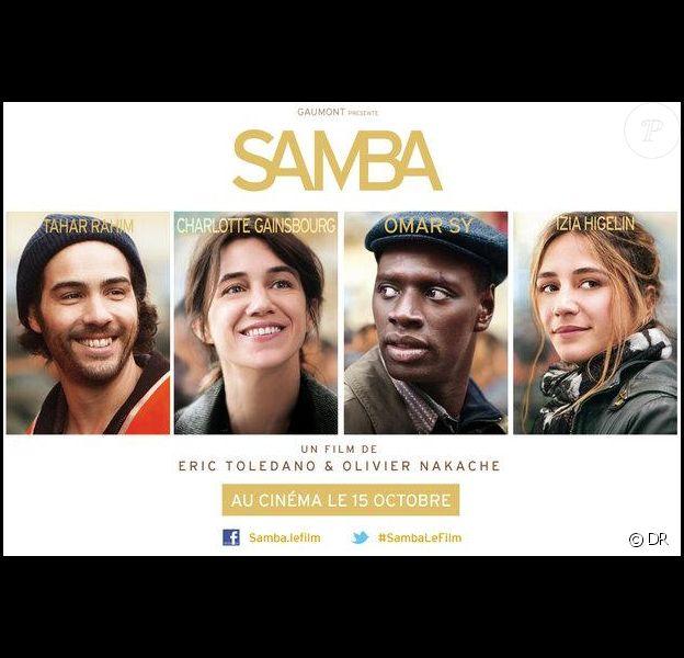 Affiche du film Samba d'Eric Toledano et Olivier Nakache