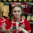 Lily-Rose Depp, fille de Johnny Depp et Vanessa Paradis, apparaît dans le film Tusk, dont la bande-annonce vient d'être dévoilée