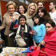 Bernadette Chirac et Lorie pour Les Pièces Jaunes