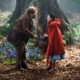 James Corden et Lilla Crawford dans Into the Woods. (Crédit : Walt Disney Pictures)