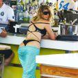 Brittny Gastineau sur la plage à Miami, le 1er août 2014