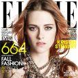 Kristen Stewart en couverture du magazine ELLE.