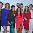 James Denton, Brenda Strong, Vanessa Williams, Eva Longoria, Mark Moses, Felicity Huffman, Doug Savant, Andrea Bowen soirée de fin de Desperate Housewives, le 29 avril 2012 à Los Angeles.