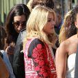 Exclusive - Chloë Moretz arrive au Shrine Auditorium à Los Angeles, où se déroule la cérémonie des Teen Choice Awards 2014. Le 10 août 2014.
