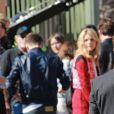 Exclusive - Brooklyn Beckham et Chloë Moretz arrivent au Shrine Auditorium à Los Angeles, où se déroule la cérémonie des Teen Choice Awards 2014. Le 10 août 2014.