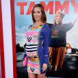 """Eva Amurri Martino (enceinte) lors de la première du film """"Tammy"""" à Los Angeles, le 30 juin 2014."""